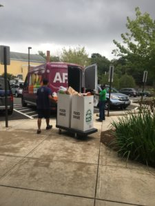 AFAC Van picks up Glebe donations