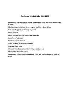 combined supplies 2019-20