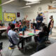 5th grade students and teachers in a classroom teachers